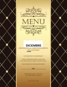 misc-oro-retro-plantilla-de-menu-inteligente-marron-clasico_270-160941